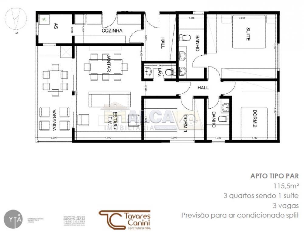 Alugar Apartamentos / Condomínio em São José do Rio Pardo apenas R$ 2.000,00 - Foto 105